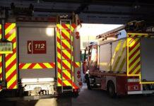 Incendio en un taller calcina 45 vehículos en Córdoba