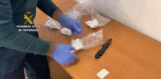 Detenidos tras esconder cocaína en la mediana de la A-4 a su paso por Montoro
