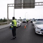 Fallece un camionero en la A-316 dirección Úbeda tras una salida de vía