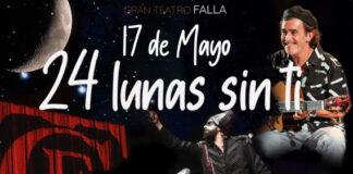 Cádiz rinde homenaje a Juan Carlos Aragón con '24 lunas sin ti'
