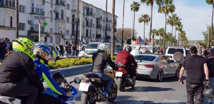 Comportamiento ejemplar de los aficionados en el Gran Premio de España de MotoGP