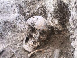 Descubren un nuevo enterramiento en una parcela de Marroquíes Bajos