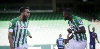 El Betis continúa en la lucha por disputar la Europa League