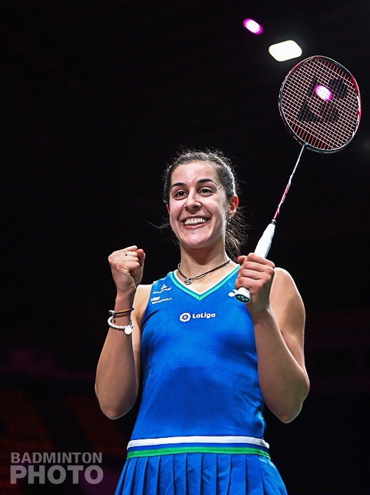 La onubense Carolina Marín se alza con su quinto Europeo de Bádminton