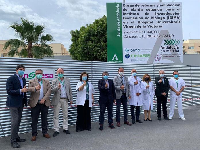 Más espacios para la investigación en el Virgen de la Victoria de Málaga