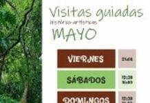 Programa de actividades familiares del Jardín Botánico de La Concepción en mayo
