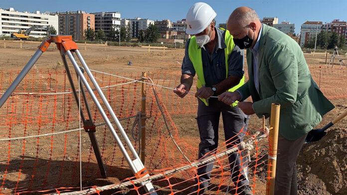 Comienzan las obras del nuevo colegio de Huelva en el Ensanche Sur