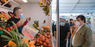 El mercado temporal de San Sebastián abre sus puertas en Huelva