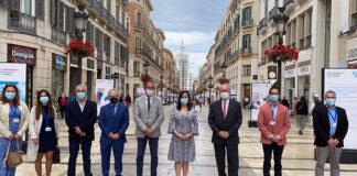 Décadas de historia del Hospital General y del Materno de Málaga recogidas en imágenes