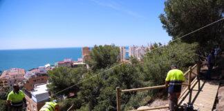 Un nuevo sendero unirá el Cementerio Inglés y el Castillo de Gibralfaro en Málaga