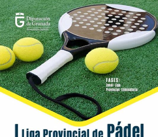 Inscripciones abiertas para la I Liga Provincial de Pádel de Granada