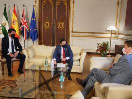 Andalucía recuerda al embajador de Reino Unido que es un destino seguro