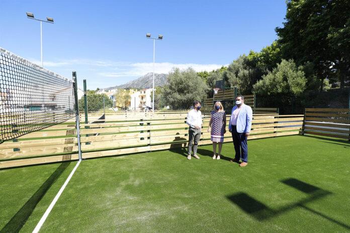 Marbella cuenta ya con sus primeras pistas multideportivas gratuitas