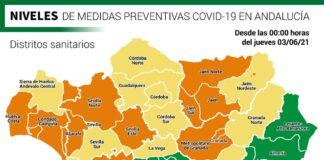Estos son los niveles preventivos en Andalucía desde este jueves