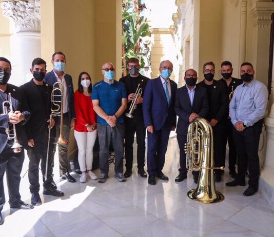 Bandas cofrades de Málaga ofrecen conciertos por los distritos de la capital