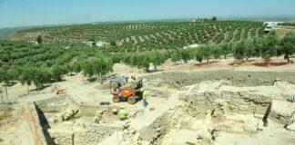Afloran nuevos restos de la ciudad romana de Obulco, en Porcuna
