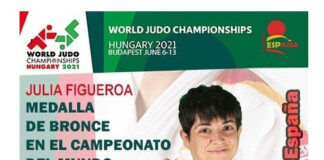 La judoca cordobesa Julia Figueroa se asegura los Juegos de Tokio 2020