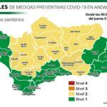 Andalucía no registra municipios en nivel 3 de alerta, consulta el tuyo