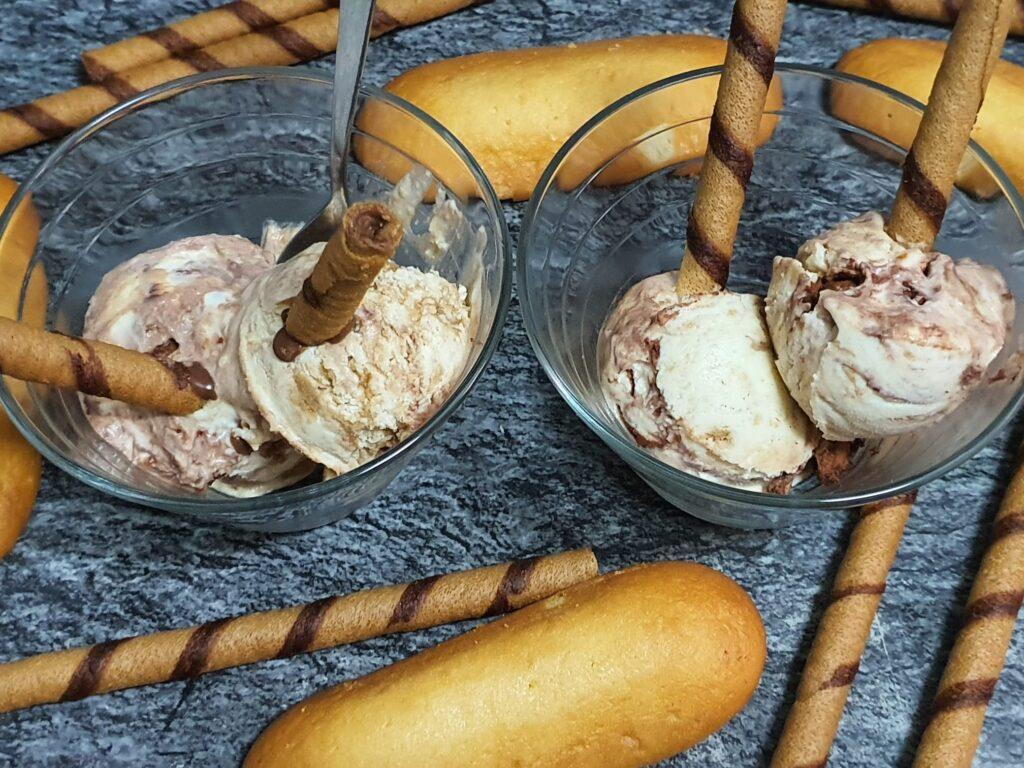 Cómo hacer un rico helado casero de tiramisú