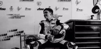 Huelva despide entre muestras de cariño al joven piloto Hugo Millán