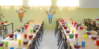 Las aulas podrían ser comedores escolares el próximo curso