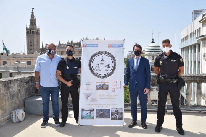 Tres policías recorrerán 220 kilómetros solidarios para construir viviendas en India