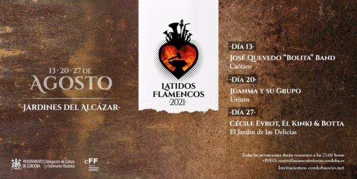 Vuelve el arte jondo a Córdoba con 'Latidos Flamencos' en el Alcázar