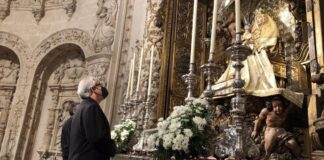 Sevilla adapta los cultos a la Virgen de los Reyes del mes de agosto