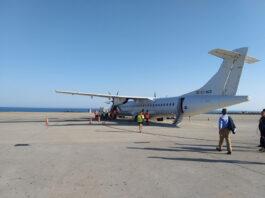 Crece la demanda y el número de vuelos de la ruta aérea Almería-Sevilla