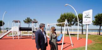Nuevo parque infantil accesible en el Paseo de la Ría de Huelva