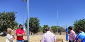 Ya se puede jugar al voley playa... en este pueblo de Sevilla