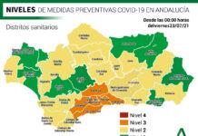 La Comunidad actualiza sus niveles de alerta por distritos sanitarios