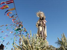 16 de julio: rezando por la anhelada normalidad a la Virgen del Carmen