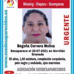 Buscan a una mujer de 50 años desaparecida en la localidad granadina de Sorvilán