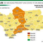 Pocas novedades en la actualización de niveles de alerta de los distritos sanitarios