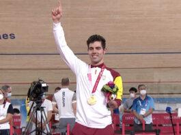 El ciclista Alfonso Cabello consigue la primera medalla andaluza en los Juegos
