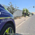 Fallece una mujer tras ser atropellada por una furgoneta en Sevilla