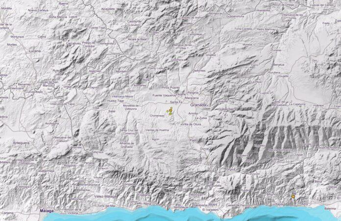 Granada continúa la serie sísmica con réplicas de menor magnitud