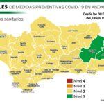 La comunidad andaluza baja en la mayor parte sus niveles de alerta