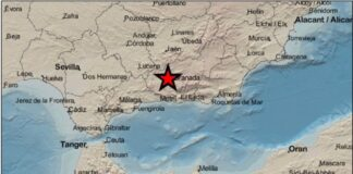 Nuevo movimiento sísmico de baja intensidad registrado en Granada