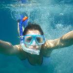 Organizan rutas para descubrir el fondo marino de Torrox haciendo snorkel