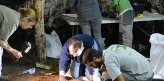 Neandertales de hace 65.000 años pintaron las marcas rojas de la malagueña Cueva de Ardales