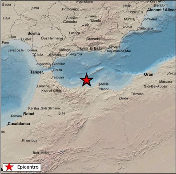 Registran una serie sísmica con 1.500 terremotos en el sur de Alborán desde abril