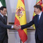 Andalucía y C. Valenciana se reúnen para valorar un nuevo modelo de financiación