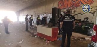 Disuelven una rave ilegal con 150 personas celebrada en Sevilla