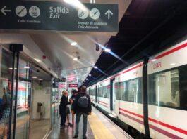 Málaga restablece la programación completa en la línea C-2 de cercanías
