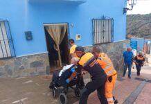 Vuelven a casa las últimas personas mayores y dependientes desalojadas en Sierra Bermeja