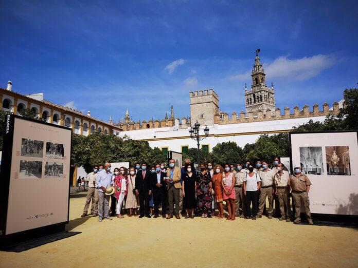 Una muestra en el Alcázar conmemora el 90 aniversario de su cesión a Sevilla