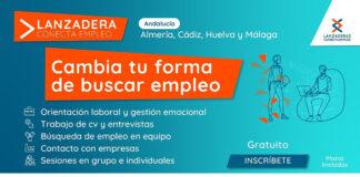 Nuevas 'Lanzaderas Conecta Empleo' en Almería, Cádiz, Huelva y Málaga