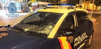 Cuatro presuntos ultras detenidos por los incidentes en el estadio Chapín de Jerez